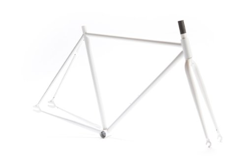 Pure Fix Original Fixed Gear Bicycle Frame Set, 58cm/Large, White