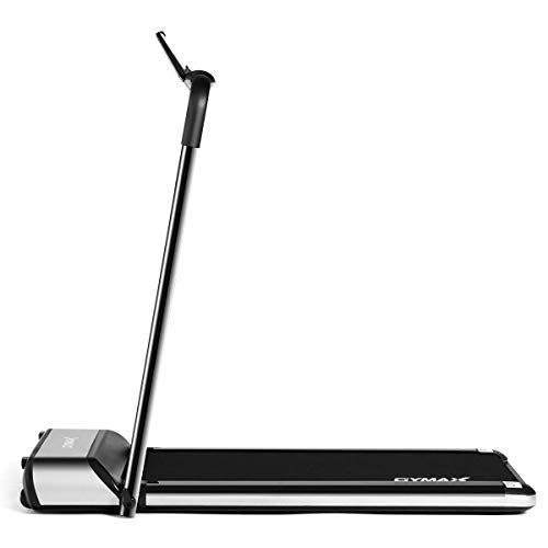Goplus Ultra-Thin Electric Folding Treadmill, Installation-Free Design, Low Noise Perfect for...