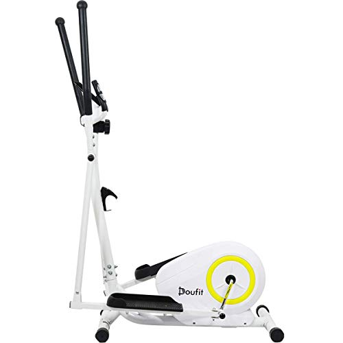 Doufit Elliptical Machine for Home Use, Portable Elliptical Trainer for Aerobic Exercise,...