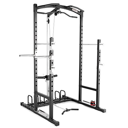 Marcy Home Gym Cage System Workout Station for Weightlifting, Bodybuilding and Strength...