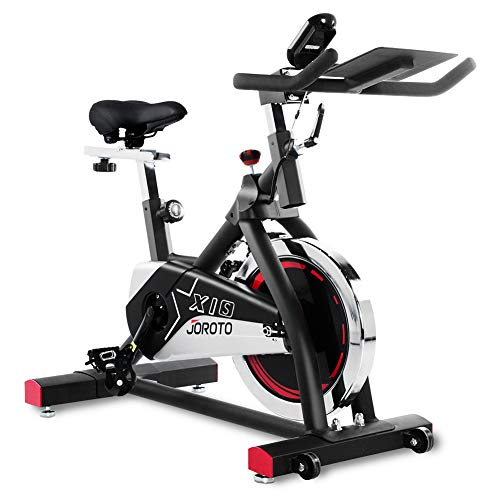 JOROTO Indoor Cycling Bike Stationary - Professional Exercise Bike Stationary Bike for Home...
