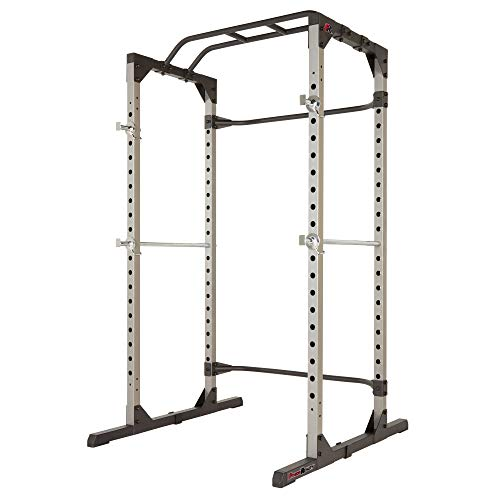 Fitness Reality 810XLT Super Max Power Cage with Optional Lat Pull-down Attachment and...