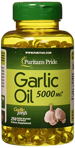 Puritans Pride Garlic Oil, 5000 Mg, 250 Count