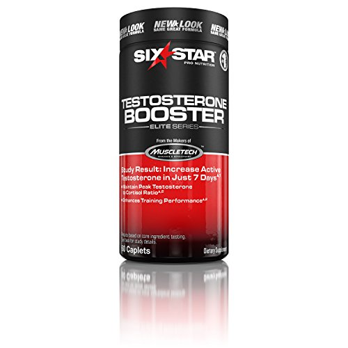 Six Star Testosterone Booster Supplement, Extreme Strength, Enhances Training Performance,...