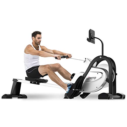 JOROTO Magnetic Rower Rowing Machine with LCD Display 250LB Weight Capacity Row Machine...