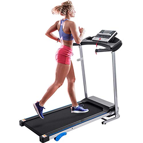 Merax Electric Folding Treadmill Motorized Running Machine with Speaker and Built-in Programs...