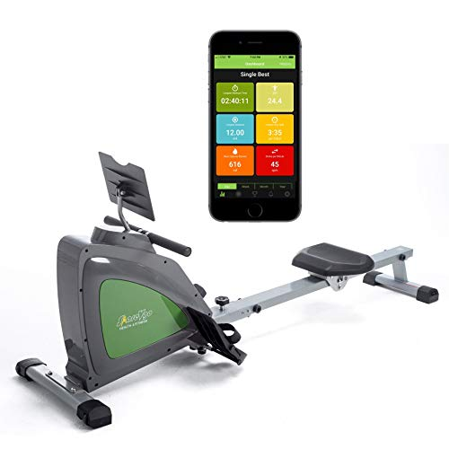 ShareVgo Smart Rower Folding Magnetic Rowing Machine with Free APP for Indoor Full Body Workout...