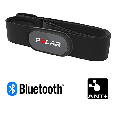 POLAR H9 Heart Rate Sensor – ANT + / Bluetooth - Waterproof HR Monitor with Soft Chest Strap...