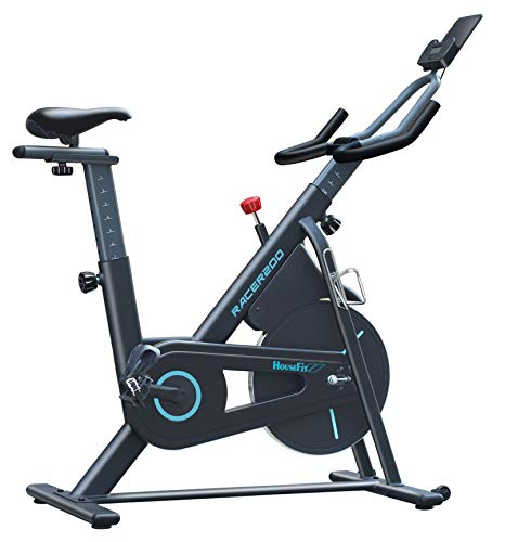 HouseFit Indoor Cycling Stationary Exercise Bike - Cycle Bike with Magnetic Resistance, Quiet...