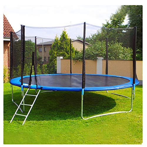 Kaiye 12 FT Trampoline with Enclosure Net Jumping Mat and Spring Cover Padding, 12-Foot Outdoor...