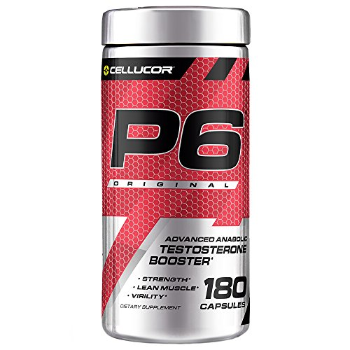 Cellucor P6 Original Testosterone Booster For Men, Build Advanced Anabolic Strength & Lean...