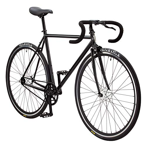 Pure Fix Premium Fixed Gear Single Speed Bicycle, 50cm/Small, Kennedy Gloss Black