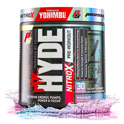 ProSupps Mr. Hyde NitroX Pre-Workout Powder Energy & Nitric Oxide Boosting Drink, Intense...