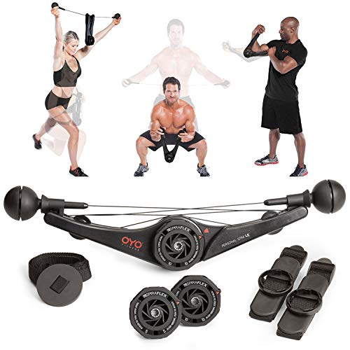 OYO Personal Gym - Full Body Portable Gym Equipment Set for Exercise at Home, Office or Travel...