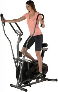 best 2 in 1 cross trainer and exercise bike