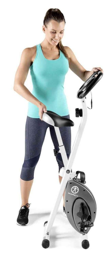 marcy exercise bike review