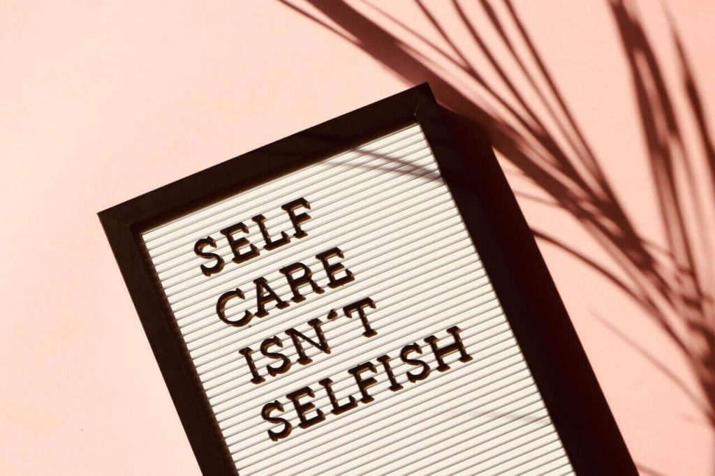 selfcare quote